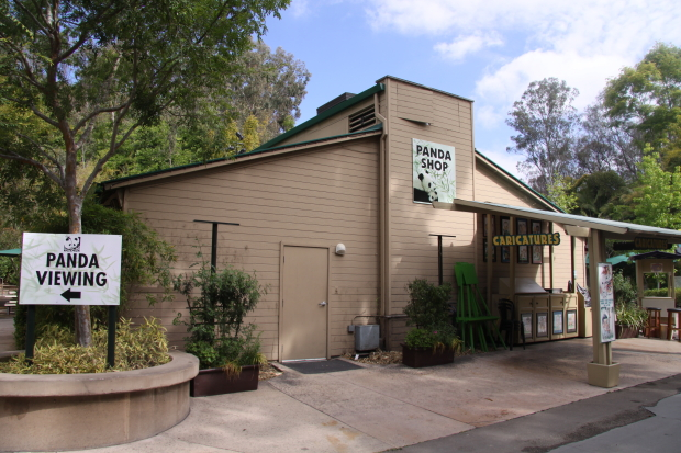San Diego Zoo 39 S Panda Gift Shop Destroyed