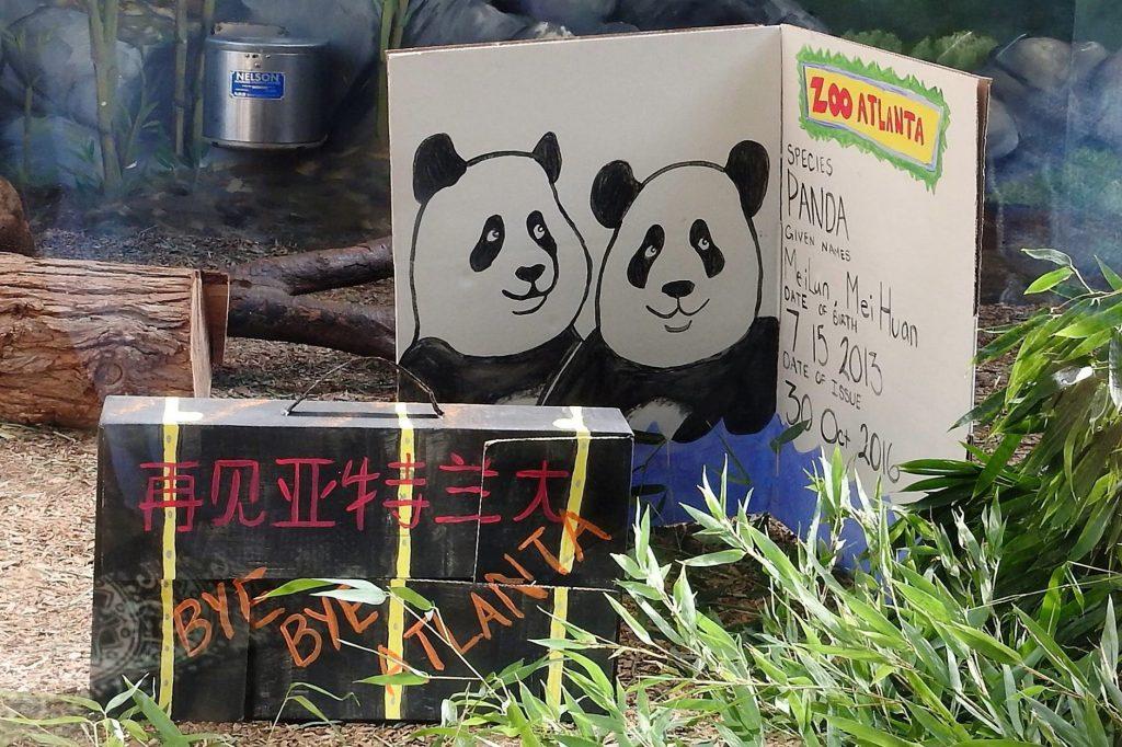 Bon vayage Mei Lun & Mei Huan